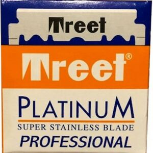 100 Treet Platinum Professional single edge razor blades