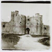 Francia Aigues-Mortes 1932 Foto Stereo Placca Da Lente Vintage n1