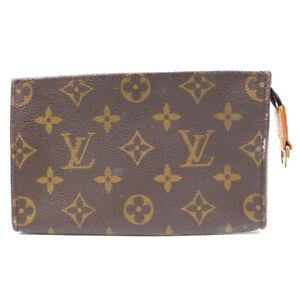 LOUIS VUITTON Mini pouch monogram brown