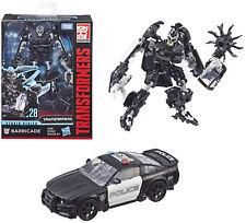 Transformers Studio Series ~ BARRICADE ACTION FIGURE #28 ~ Deluxe Class
