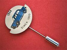K770*) Vintage Fiat Simca 1000 1964 Motor Car tie lapel pin collectable badge