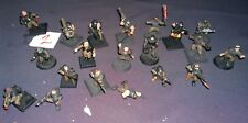 Warhammer 40K Imperial Guard cadian squad army lot (20) #2 conversions