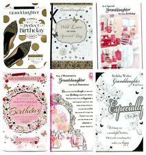 GRANDDAUGHTER~ BIRTHDAY~ FANTASTIC~ QUALITY~ 6~ DESIGNS~ TO~ CHOOSE~ FROM