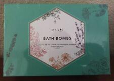 April's Bath Bombs Gift Set of 6, 4 oz each Green tea,rose,lavander Gift For Mom