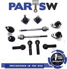 12Pc Kit Front Rear Upper Lower Ball Joint Tie Rod For Pontac Fiero 1Yr Warranty