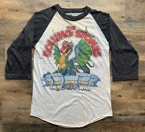 Vintage The Rolling Stones Dragon 1981 Madison Square Gardens Concert T-Shirt