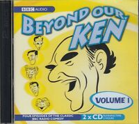 Beyond Our Ken Volume 1 2CD BBC Radio Classic Comedy Audio FASTPOST