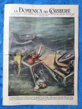 La Domenica del Corriere 29 agosto 1954 Marone - Francofonte - A. De Gasperi