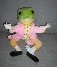 EDEN 1985 BEATRIX POTTER  Jeremy Fisher FROG Frederick Warne    pink jacket