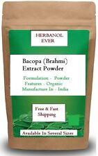 Bacopa Monnieri Extract Powder 50%  (Brahmi), Improve Memory Free delivery