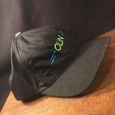 Vintage Ski Hat OLIN Skis Adjustable Snapback USA American Innovation