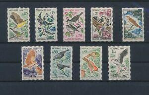 LN67550 Monaco animals fauna flora birds fine lot MNH