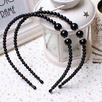 Ladies's Pearl Headband Hair Band Bead Head Bands Fashion Solid Hair Accessories