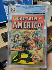 CAPTAIN AMERICA COMICS #63 - CGC Grade 6.5 - Golden Age Cap! Human Torch!