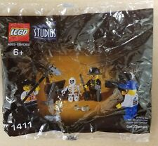 LEGO STUDIOS Pirates Treasure Hunt - 29 pcs.(1411) Stock# 4163818 - Ages 6+