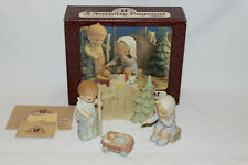 Mabel Lucie Attwell Memories Of Yesterday Nativity Pageant Set - New in Box