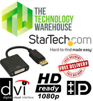 StarTech DisplayPort to DVI Video Adapter Converter - Up to 1080P DP2DVI2