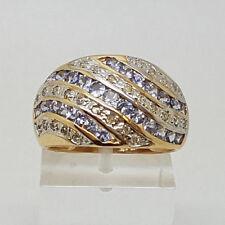 Gioielli di lusso tonda in oro giallo 14 carati