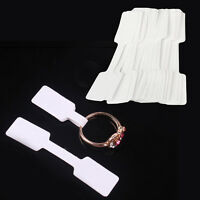 100Pcs Useful Jewelry Ring Necklace Blank Labels Jewelry Price Tags Price Tag YZ