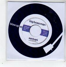(GD723) Big Boss Man, Aardvark - 2014 DJ CD