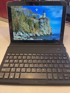 Chesona Folio Hardshell Keyboard Case for Microsoft Surface Go - Blue