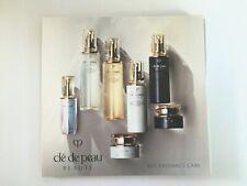 cle de peau Radiance 7-pc Sample Packet Set Le Serum Softening Lotion Emulsion
