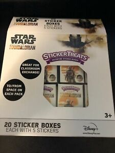 The Mandalorian Baby Yoda The Child 20  Sticker Treats Valentine Disney - BB12