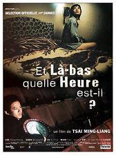 Affiche 40x60cm ET LÀ-BAS, QUELLE HEURE EST-IL ? (NI NA BIAN JI DIAN) 2001 Lee K