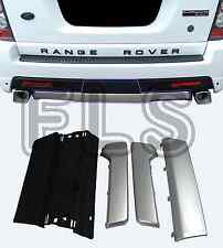 AUTOBIOGRAPHY LOOK REAR BUMPER TOW EYE COVER SET KIT FOR RANGE ROVER SPORT 10-13