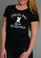 T-shirt FEMME J'PEUX PAS J'AI KRAV-MAGA