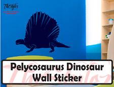 Pelycosaurus Dinosaur Wall Vinyl Sticker