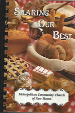 * NEW HAVEN CT 1997 SHARING OUR BEST COOK BOOK * METROPOLITAN COMMUNITY CHURCH