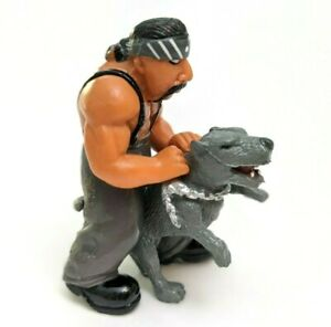 Homies Series 8 Chase of Big Loco with Pitbull DogGray Great condition Mini Fig