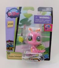 Littlest Pet Shop LPS Singles Pets in the City 122 Huggsie Pinkerson Snail New