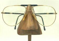 Vintage Rem Gold Metal Aviator Blue Eyeglasses Sunglasses Frames
