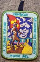 1994 NOAC Delegate Patch - An Adventure For Many A Journey For One - BSA/OA