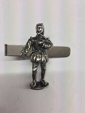 on a Tie Clip 4cm long Tudor William Shakespeare We-Tp1S English Pewter emblem