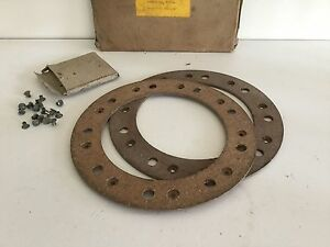 Bedford H, I, 5&6cwt, Morgan 4/4, Clutch Linings and Rivets, NOS