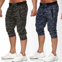 Pantalon de survêtement pour hommes jogg survêtement élastiqué mixte Sport court