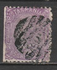 TASMANIA 1871 QV 5/- USED