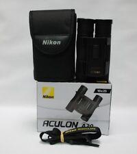 NIKON ACULON A30 10X25 BINOCULARS  (SILVER)  BAA80801