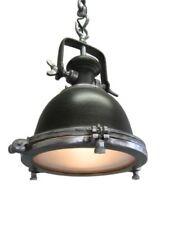 Lámpara colgante de iluminación de techo de interior de metal color principal marrón