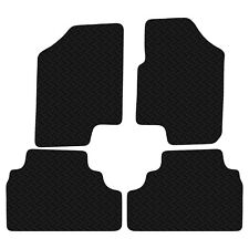 Kia Venga 2010 onwards Black Floor Tailored Rubber Car Mats