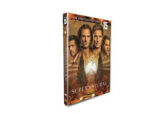 SUPERNATURAL season 15 FREE SHIPPING! BRAND NEW SEALED 5 DISC!
