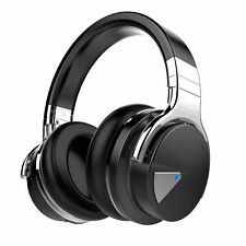 COWIN E7 Bluetooth Over Ear Headphones Wireless & 30 Hours Playtime