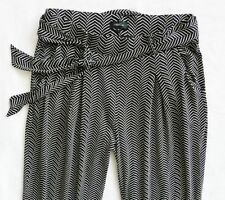 Viscose Tapered High 30L Trousers for Women