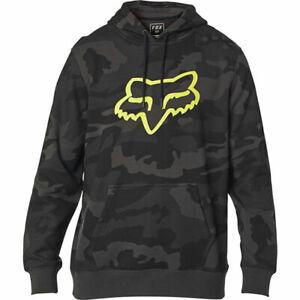 Fox Legacy Foxhead Camo Pullover Hoodie Black Camo