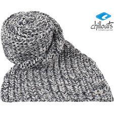 CHILLOUTS Gerd scarf Schal Damen Strick Winterschal wärmende in Blau Grau