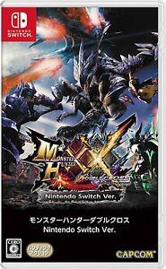 Nintendo Switch Monster Hunter XX Double Cross Japan Japanese Game