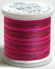 YLI 100% and 100wt Silk Variegated Thread [ 07V - Rubies ]